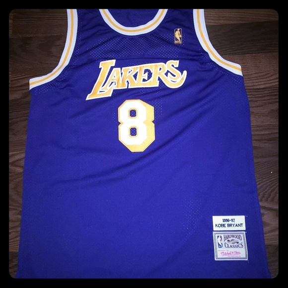 classic fit f18dc 31ff3 Mitchell and Ness Kobe Bryant Throwback Jersey NWT